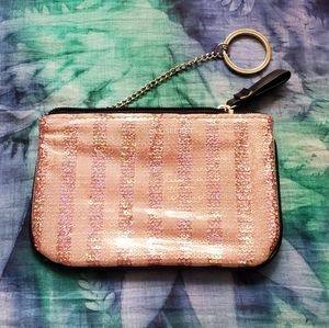 💙3 for $15 Holo Pink Sequin Clutch from VS